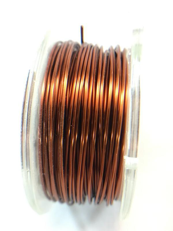 Antique Copper Core Wire, Anti-Tarnish