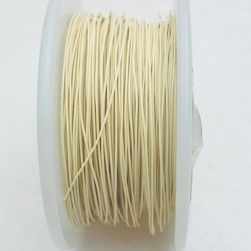 Antique White Core Wire, Anti-Tarnish