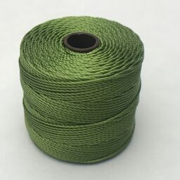 S-Lon Bead Cord, Avocado, 77 yards