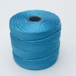 S-Lon Bead Cord, Bermuda Blue, 77 yards