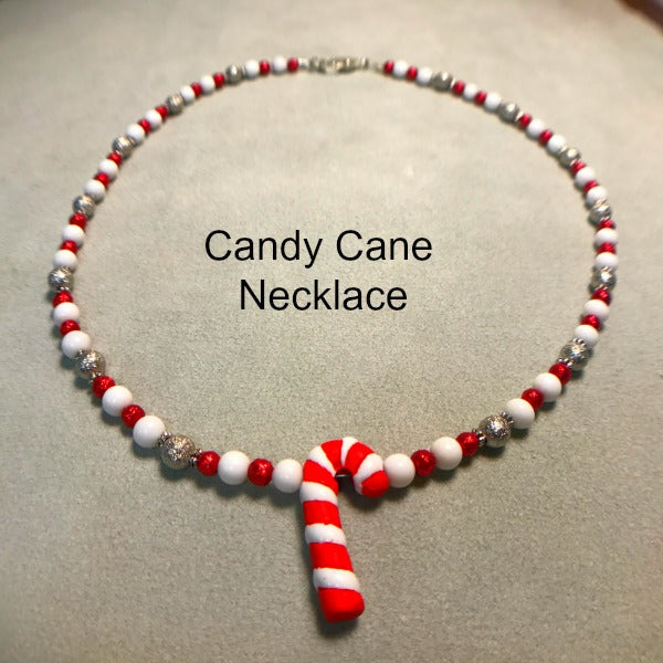 Candy Cane Necklace Kit
