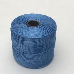 S-Lon Bead Cord, Carolina Blue, 77 yards