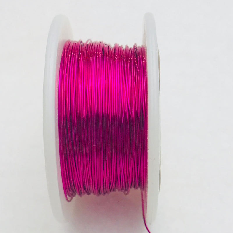Fuchsia Core Wire, Anti-Tarnish