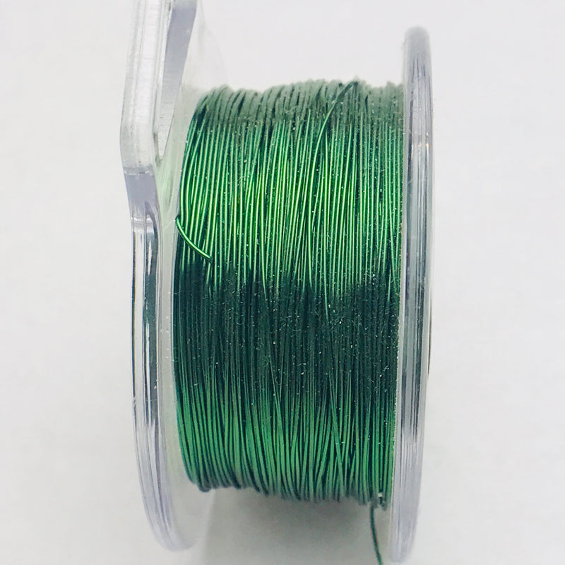 Green Copper Core Wire, Anti-Tarnish