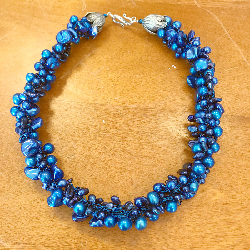Holiday Blues Necklace