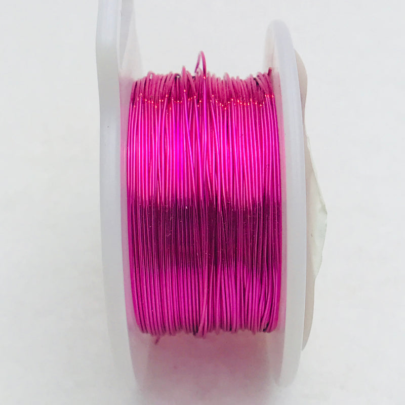 Hot Pink Core Wire, Anti-Tarnish