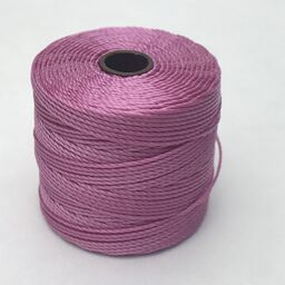 S-Lon Bead Cord, Light Orchid, 77 yards