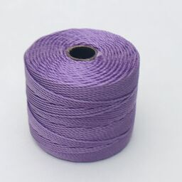 S-Lon Bead Cord, Orchid, 77 yards