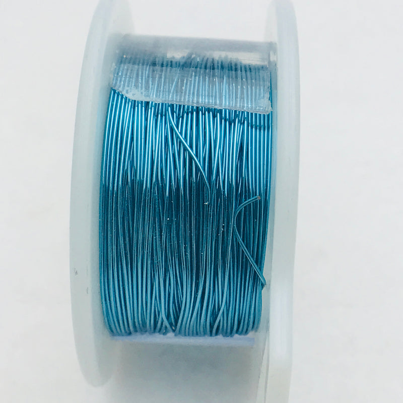 Pacific Blue Core Wire, Anti-Tarnish