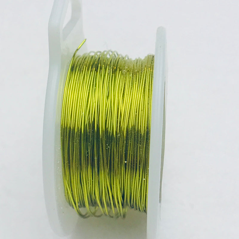 Peridot Core Wire, Anti-Tarnish