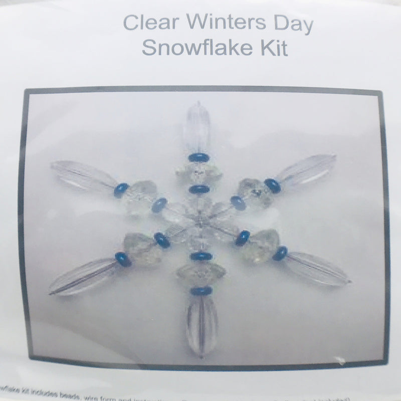 Clear Winter's Day Snowflake Kit