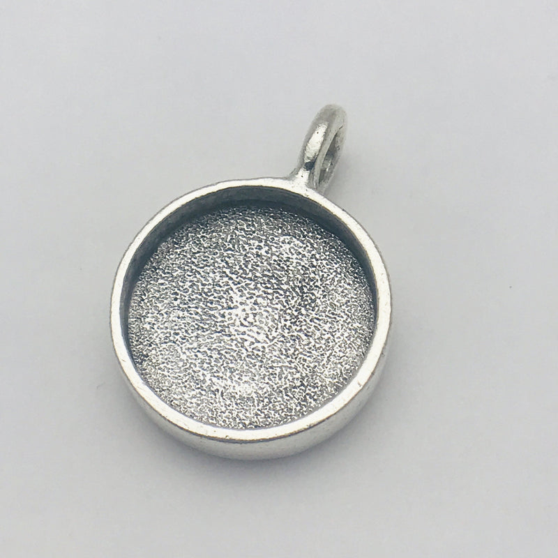 Circle Pendant Bezel Frame 18mm