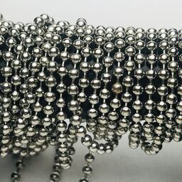 Silver Plated Ball Chain 1mm