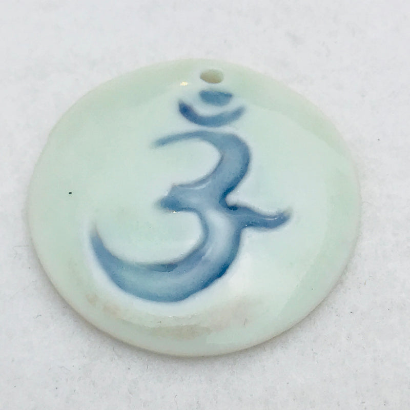 Ohm Charm by Keith OConnor, White, 25mm