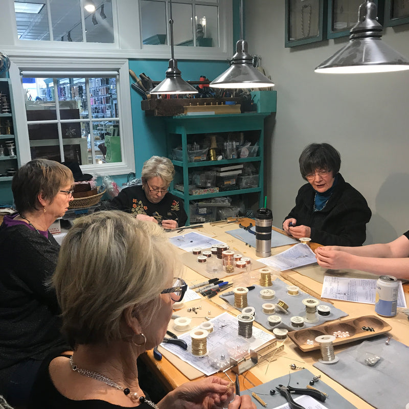 Bead Weaving Drop-In Studio 11/13