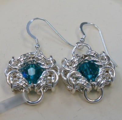 Chain Maille Earrings  6/29/19
