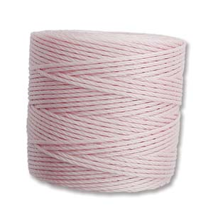 S-Lon Bead Cord, Blush, 77 yards