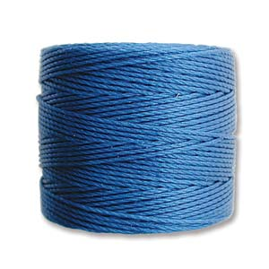 S-Lon Bead Cord, Blue, 77 yards