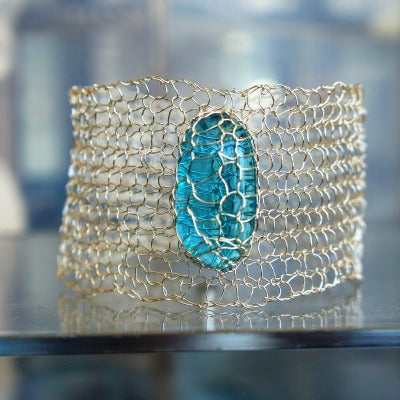 Wire Knit & Crochet Jewelry