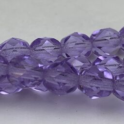 Tanzanite Fire Polish 6mm