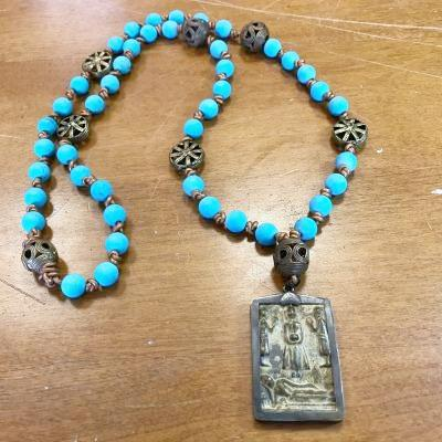Tibetan Amulet Necklace