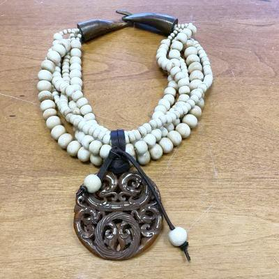 Tibetan Bone Necklace