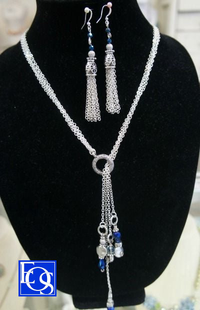 Chain Lariat Earrings - 4/15/2020