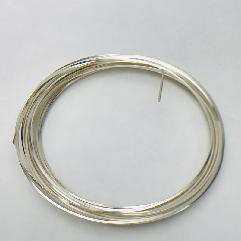 Square Silver Wire 21 Gauge