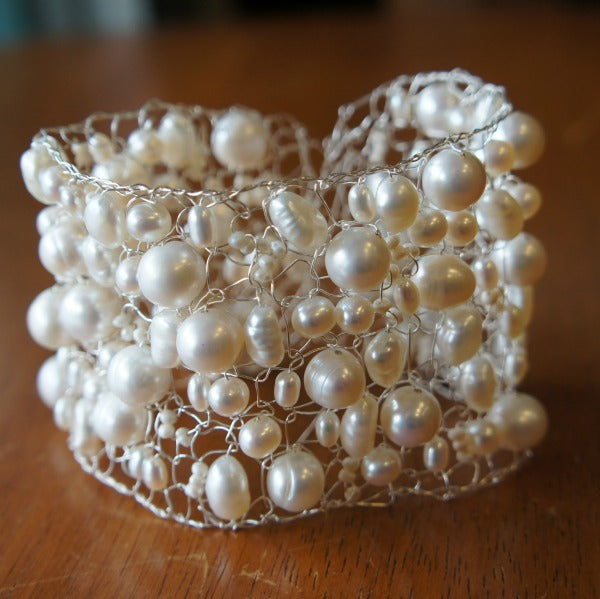 Pearly White Cuff