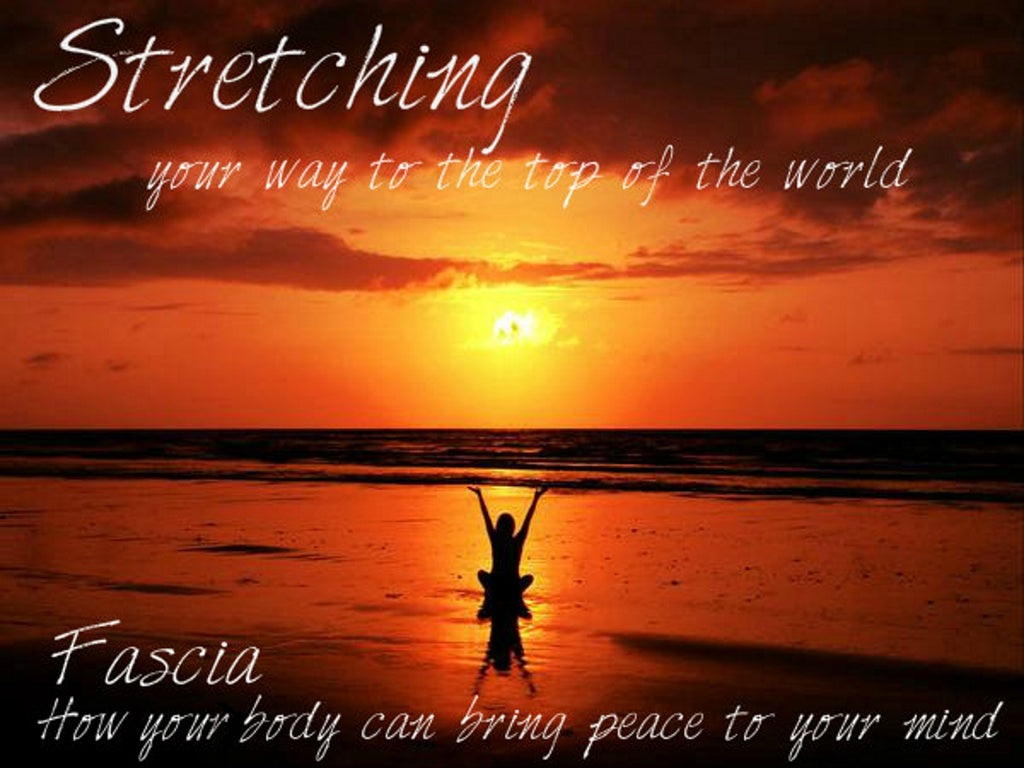 Fascia, How your body can bring peace to your mind: Stretching your way to the top of the world