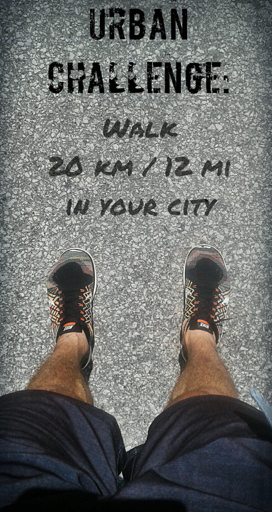 Walk Away Your Weight- Urban Challenge-- 20km or 12 mile Walk