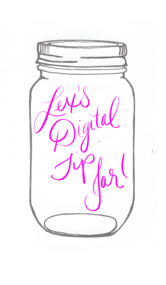 Lex's Digital Tip Jar!