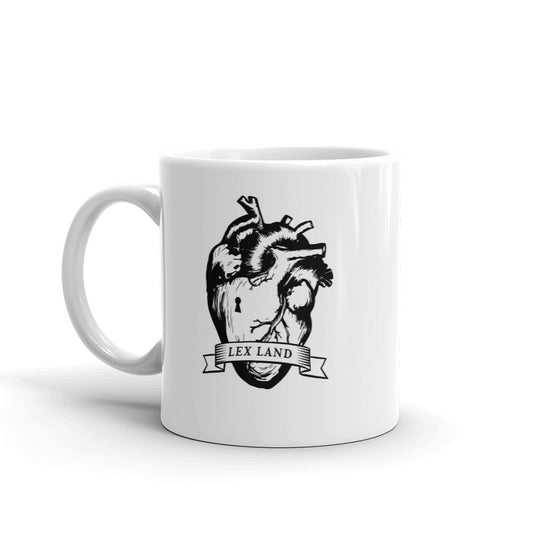 Lex Land Anatomical Heart Logo Coffee Mug