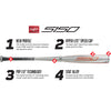 "2020 Rawlings 5150 -10 (2 3/4"") USSSA Baseball Bat: UTZ510"