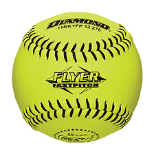 "Diamond NSA Flyer 11"" 52/275 Leather Fastpitch Softballs (Dozen): 11BKYFP"