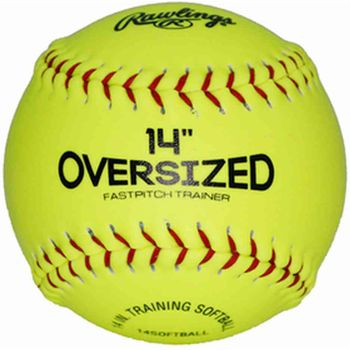 "Rawlings 14"" Oversized Pitcher's Softball: 14SOFTBALL"