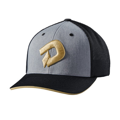 DeMarini Gold D Flex Fit Hat: WTD1081HG