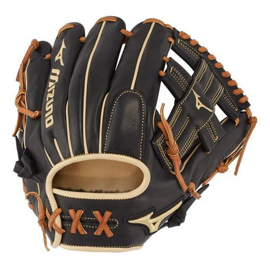 "Mizuno Pro Select Black 11.5"" Baseball Glove: GPS1BK-400R / 312672"