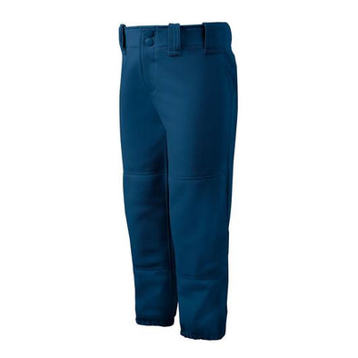 Mizuno Girl's Belted Fastpitch Softball Pants: 350462