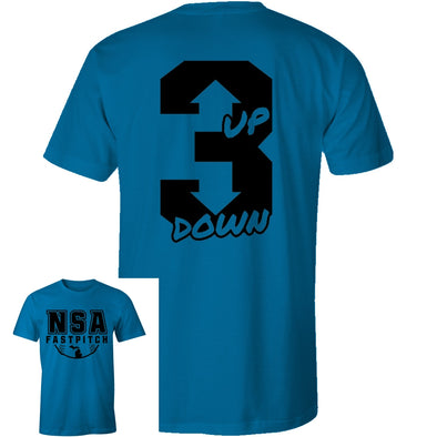 DSG Apparel 3 Up 3 Down T-Shirt: GD-3UP3DN