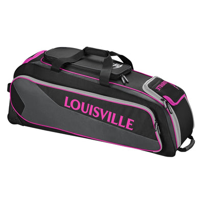 Louisville Slugger Prime Rig Wheeled Player/Catcher's Bag: WTL9901