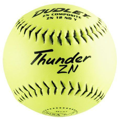 "Dudley 21"" Thunder ZN NSA Trophy/Souvenir Softball: 43223"