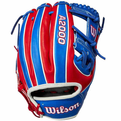 "Wilson A2000 1786 11.5"" Dominican Republic Limited Edition Baseball Glove: WBW100304115"