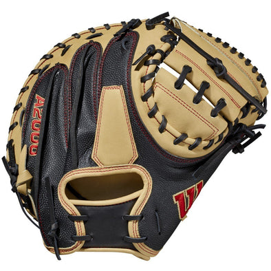 "Wilson A2000 M2SS 33.5"" SuperSkin Baseball Catcher's Mitt: WBW100117335"