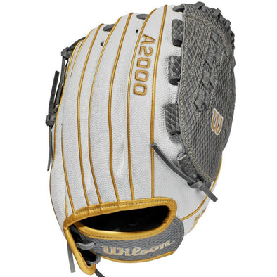 "Wilson A2000 V125SS 12.5"" SuperSkin Fastpitch Glove: WBW100214125"