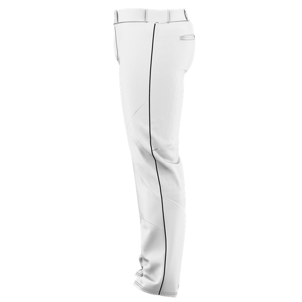 Alleson Adult Crush Open Bottom Baseball Pants with Piping: 655WLB