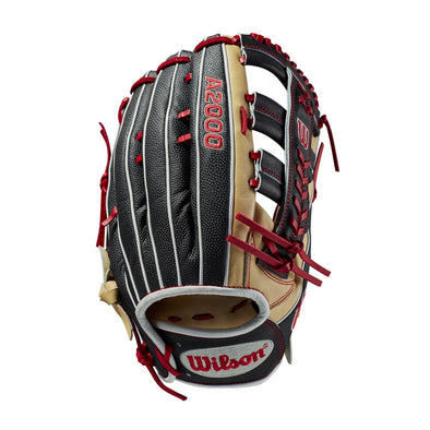 "Wilson A2000 SA1275SS 12.75"" SuperSkin Baseball Glove - August 2018: WTA20RB19LEAUG"
