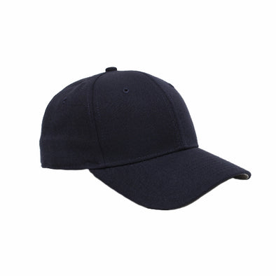 Pacific Headwear Wool Fitted Umpire Hat: 801SW
