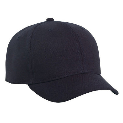 Pacific Headwear Flex Fit Pro Wool Umpire Combo Hat: 855U