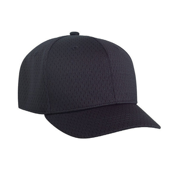 Pacific Headwear Fitted Mesh Umpire Combo Hat: 860U